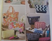 Simplicity Sewing Pattern 1153 Bags in Various Sizes Tote Bag Tissue Cover New Pattern