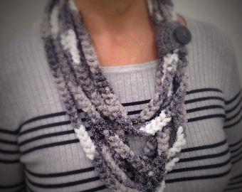 Handwoven rope scarfs