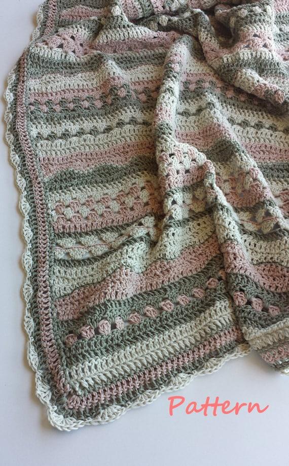 Crochet Baby Blanket Pattern Etsy : Crochet baby blanket pattern.PDF 060.