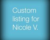 Custom made choker for Nicole V
