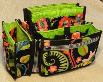 Purse Insert Pattern Porta-pockets PLUS 3 sizes Handbag Help DIY to Make Sewing by Studio Kat Designs