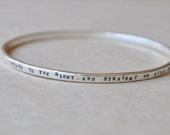 Silver bangle, The Way to Neverland