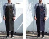 Free Shipping Art Apron,Unisex Apron, Men's apron, women waiter waitress apron, chef apron, full apron,mens apron-4 color (large size)