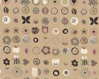 Alexander Henry - June Collection June Blooms in Beige 7337-B by the Yard