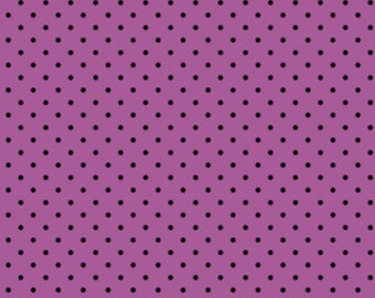 Henry Glass - Frank-n-Friends by Barbara Jones Dots on Purple 5870-55 by the Yard