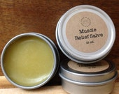 Organic Muscle Relief Salve - Therapeutic Grade Young Living Essential Oils, Non GMO