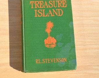 Treasure Island by R.L. Stevenson circa 1934 Vintage Photoplay edition