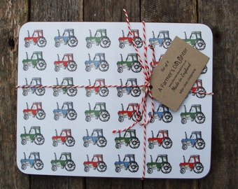 Tractors Placemats (Set of 4)