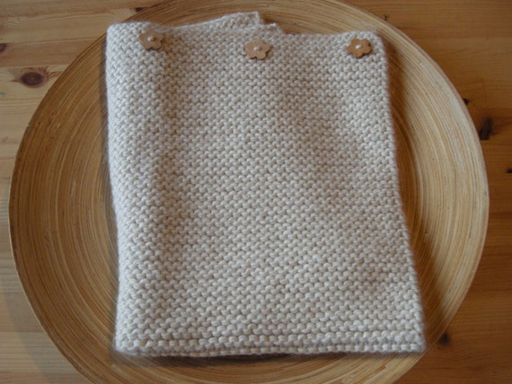 Baby blanket - wool & alpaca - natural baby - pick your color - made to order- free shipping worldwide
