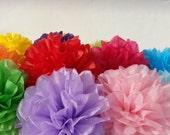 Tissue Paper Fiesta Flowers - Set of 36 Tissue paper flower - Parties Decor/Birthdays/Fiesta/Mexico