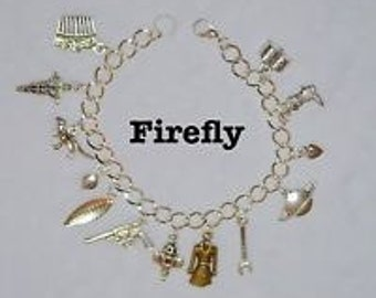 Firefly Charm Bracelet, tv show, Serenity, mal, awesome fandom