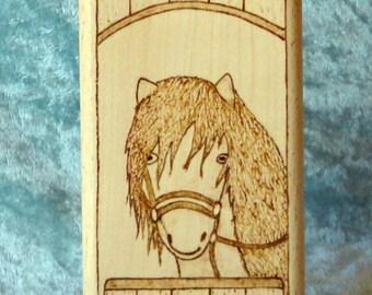 Horse Pencil Pot