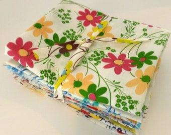 Kei  Vintage Time Floral for  Yuwa of Japan- Fat Quarter Bundle