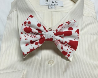 Bloody Print Bowtie / Bow Tie