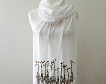 Giraffe Scarf handmade