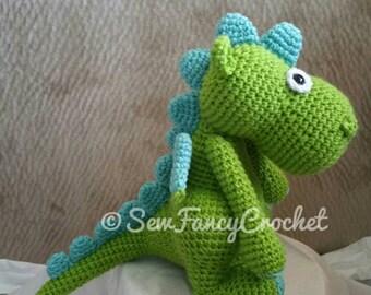 Dragon, Dragon Stuffed Animal, Stuffed Dragon, Crochet Stuffed Dragon, Crochet Stuffed Animal, Dragon Toy, Crochet Toy, Crochet Dragon