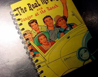 The Real McCoys Retro TV Show JOURNAL Vintage Book Altered