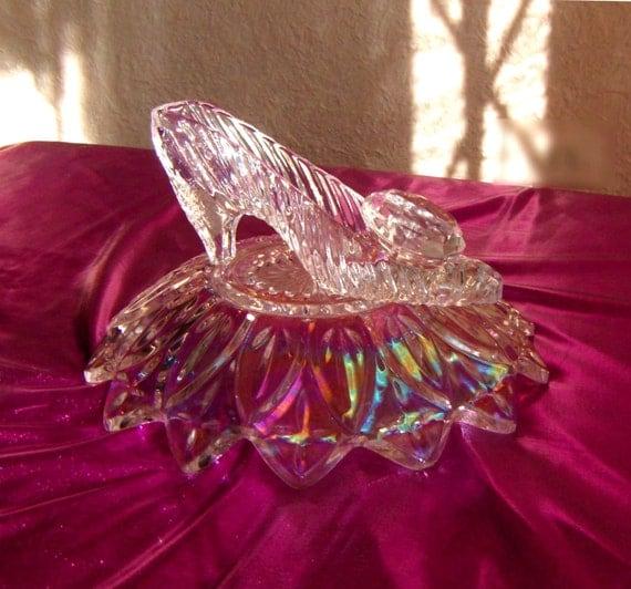 Cinderella slipper wedding centerpiece free by antoniasbazaar