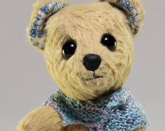 "OOAK Earnest Bear by Tabbyclouds ""Tripp"" ( Collector Artist )"