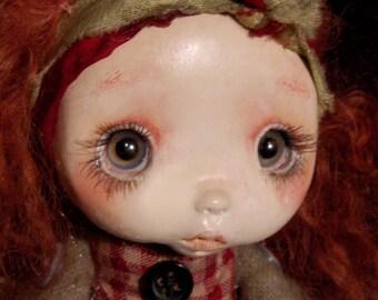 OOAK,Zilda art doll