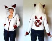 San --Handmade Anti-Pill Fleece Hoodie / Sweatshirt