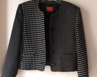 KENZO Jungle paris asymmetrical blazer top jacket commes des garçons vintage S/M