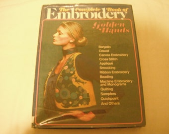 1973 The Complete Book of Embroidery