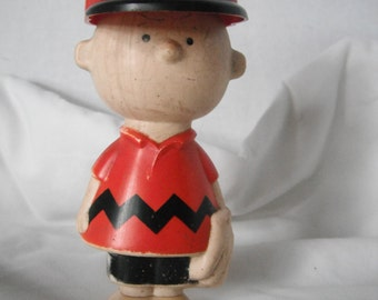 1950 Charlie Brown Avon shampoo bottle