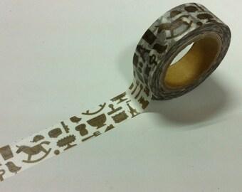 naturalpermanent Masking Tape / Grocery NP-MK-008 / 15mm x 10M