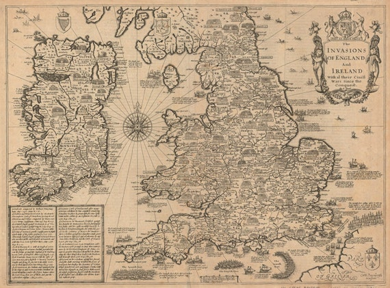 England and ireland old world map antique world map maps like this item gumiabroncs Image collections