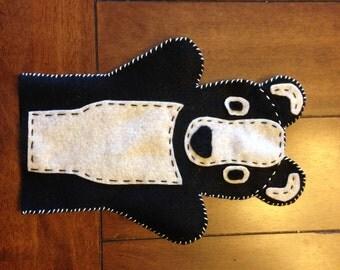 Badger- Felt Hand Puppet