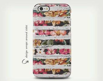 Unique Floral iPhone 6 Case Floral Art Wood iPhone 6 Plus Case iPhone Covers Flowers iPhone 5 Case Roses iPhone 5c Case Girly iPhone 6 Case