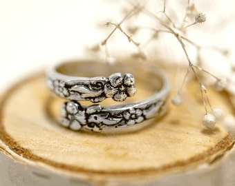 "Spoon Ring: ""Ada"" by Silver Spoon Jewelry"