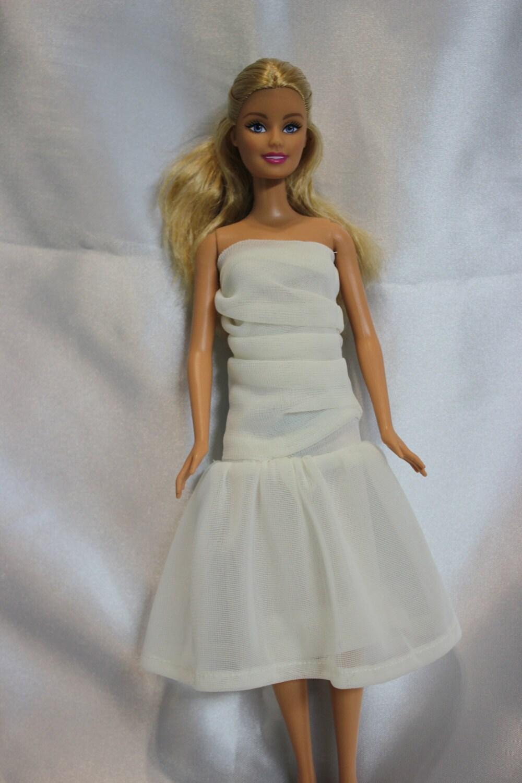Barbie doll prom dresses