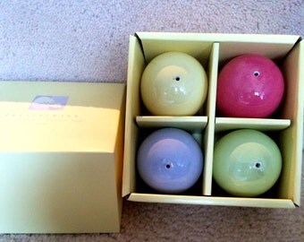 Pottery Barn Ceramic Pastel Colors Easter Eggs