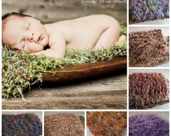 Newborn Photo Prop Blanket Photography Prop Baby Blanket Newborn Props Baby Posing Props New Baby First Picture Prop Moss Green