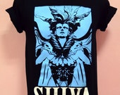 FFXIV a realm reborn SHIVA summoner's monster design   - Unisex Adult T-Shirt Black Tshirt featured image