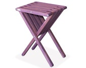 End Table X45, Purple Berry Finish