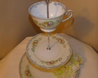 Tea Cup Dessert stand