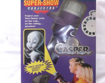 View Master Super Show Projector with Caspar Reels
