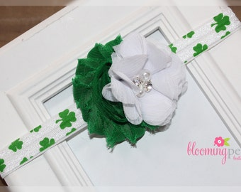 Shamrock St Patrick's Day Infant/Toddler Headband