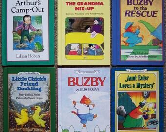 I Can Read Book Collection - 12 VG Hardcover Children's Books - Hippo Lemonade, Little Bear, Hester the Jester, Arthur, Buzby, Little Chick