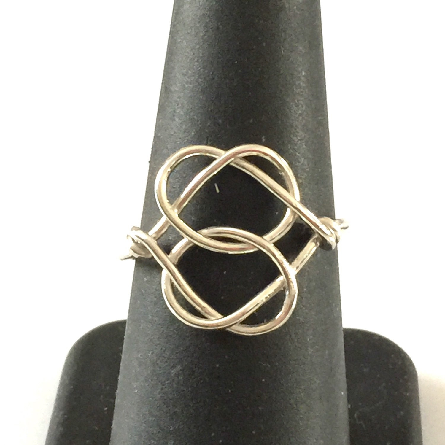 eternity knot celtic love ring wire wrapped jewelry. Black Bedroom Furniture Sets. Home Design Ideas