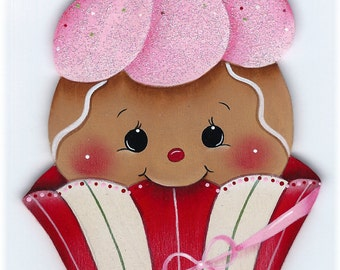 Cutie Cake Gingerbread Painting E-Pattern