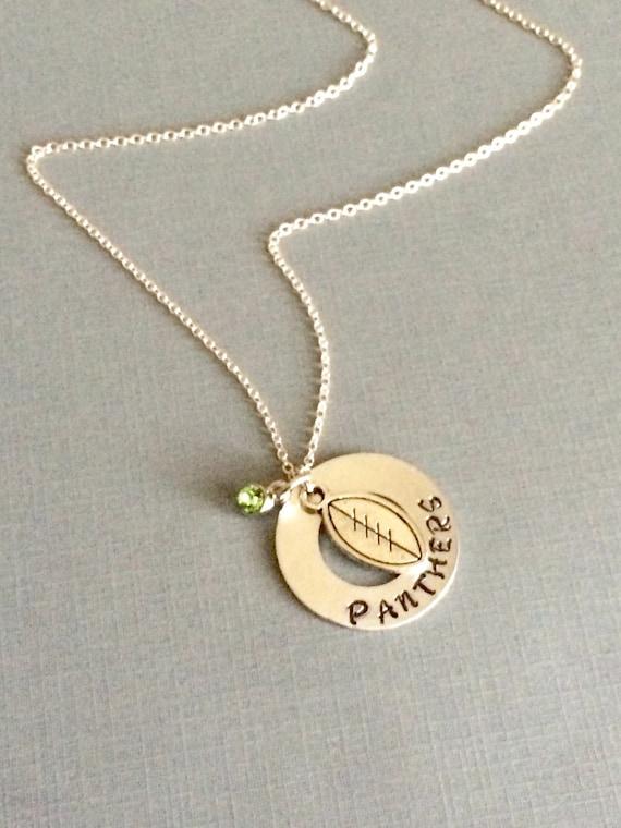 football necklace sports necklace sports jewelry sports