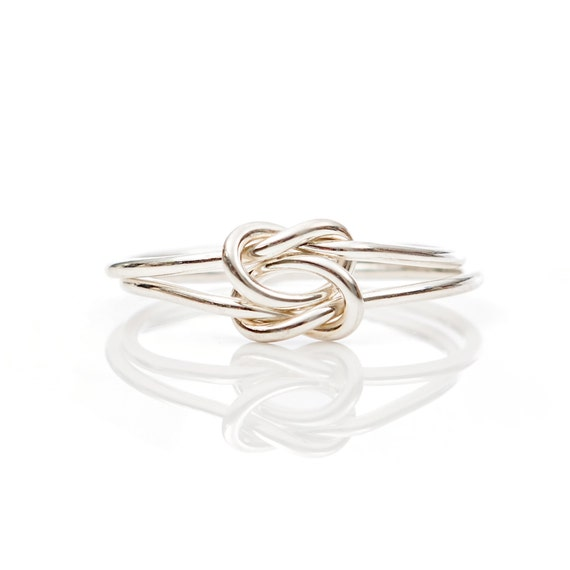 Double Knot Ring- Sterling Silver