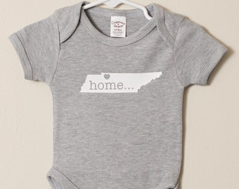 Personalized State bodysuit FREE and FAST Shipping in the US!