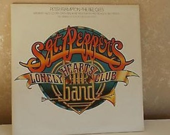 Vintage LP Record Sgt Peppers Lonely Hearts Club Band Original SoundTrack R-16