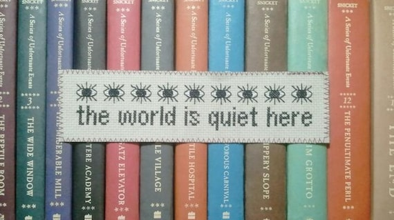 Pattern - The World Is Quiet Here Bookmark