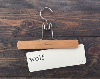 vintage flash card • wolf | Dick and Jane | Alice and Jerry flashcard